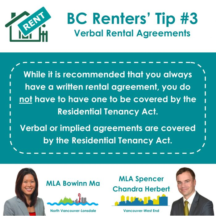 3 Verbal Rental Agreements R1 Spencer Chandra Herbert